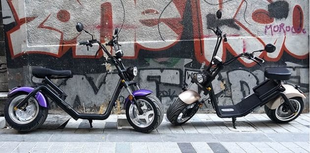 CityCoco aparcado en la calle