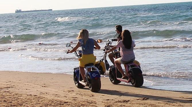 CityCocos en la playa