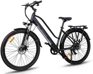 Bicicleta eléctrica de paseo Mackwheel Cruiser-550