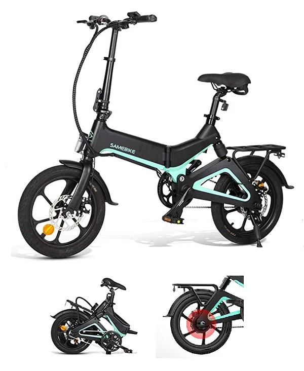 E-Bike plegable Samebike 55