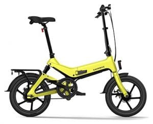 E-bike plegable ligera Samebike 55
