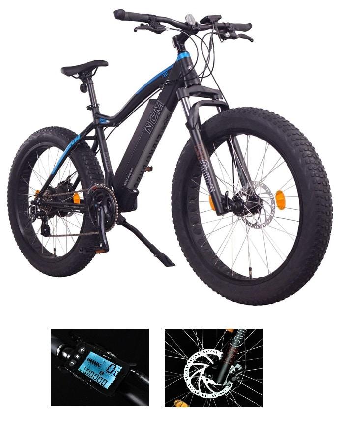 Fatbike eléctrica NCM Aspen