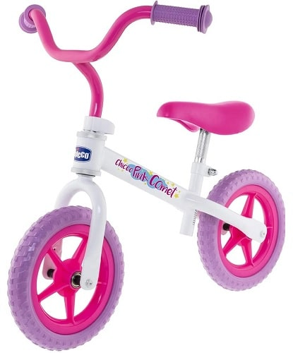 Bicicleta Chicco color rosa y lila