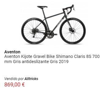 Oferta en bicicleta de carretera Aventon
