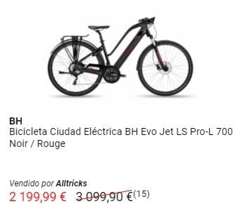 Oferta bicicleta eléctrica BH
