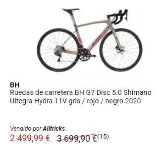 Outlet de bicicletas de carretera BH
