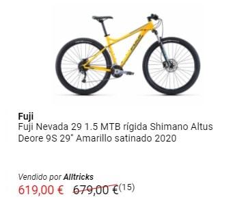 Outlet de bicicletas de montaña BH