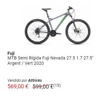 Outlet de bicicletas de montaña Fuji