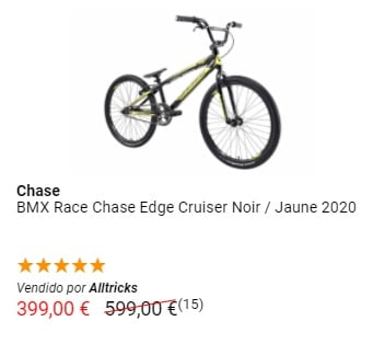 Bicicleta BMX Race Chase