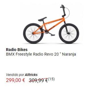 Bicicleta BMX Freestyle Radio Bikes