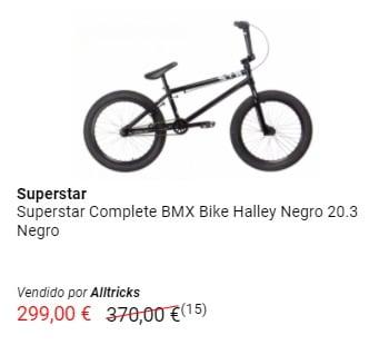 Bicicleta BMX barata Superstar