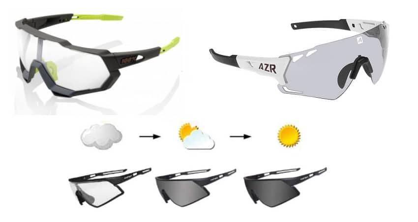 Gafas fotocromáticas de ciclismo y MTB