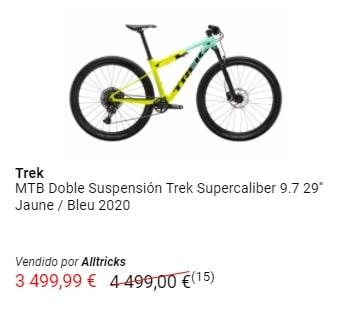Oferta bicicleta Trek Supercaliber