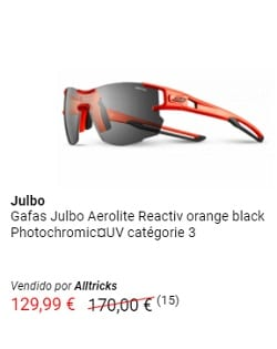 Gafas del outlet de AllTRicks