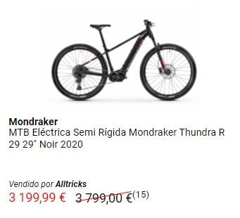 Oferta MTB eléctrica Mondraker