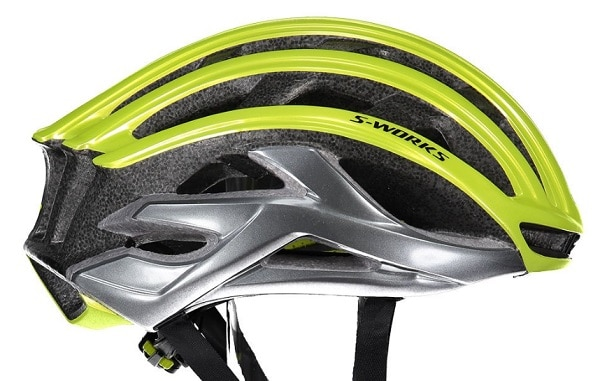 Vista lateral del casco Specialized S-Works Prevail ANGI MIPS