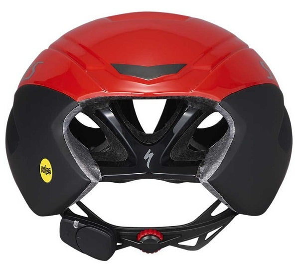 Vista trasera casco Specialized Evade