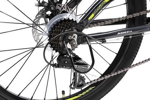Cambio Shimano de Bikestar JumpX 24